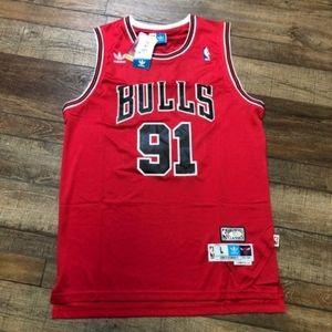 NWT Dennis Rodman Chicago Bulls NBA Jersey NEW